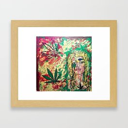 WILLOW WEED Framed Art Print