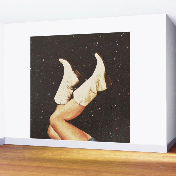 These Boots - Space Wall Mural