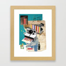 Colors In Progress Framed Art Print