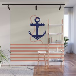 AFE Navy Anchor and Chain Wall Mural