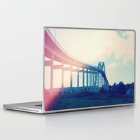 bridge Laptop & iPad Skins featuring Bridge by Rolin