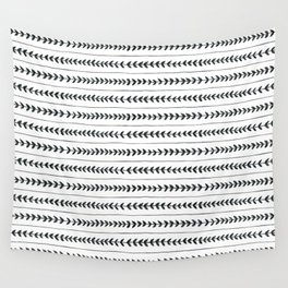 Laurel stripe - back and forth Wall Tapestry