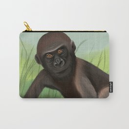 Gorilla in the Jungle Carry-All Pouch