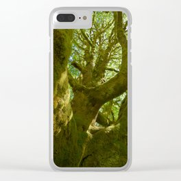 A Saturation of Life Clear iPhone Case