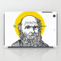 darwin iPad Cases featuring St. Darwin by Kexit guys