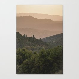 Southern California Wilderness Canvas Print