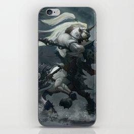 White Centaur iPhone Skin