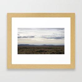 New Mexico Landscape Framed Art Print