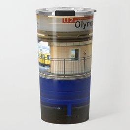 Berlin U-Bahn Memories - Olympia Stadion Travel Mug