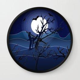 Night sex Wall Clock