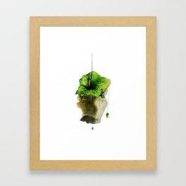 Apple fisher Framed Art Print