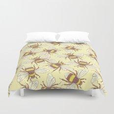Bees! Duvet Cover