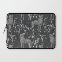 wolf and raven Laptop Sleeve