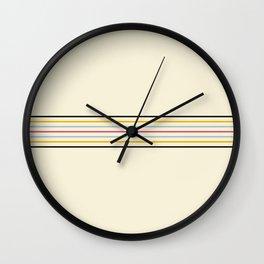 Classic Fine Retro Stripes Wall Clock