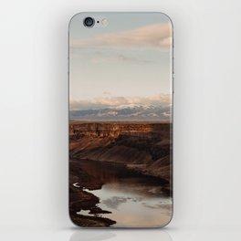 Snake River, Idaho - Scenic Desert Canyon iPhone Skin