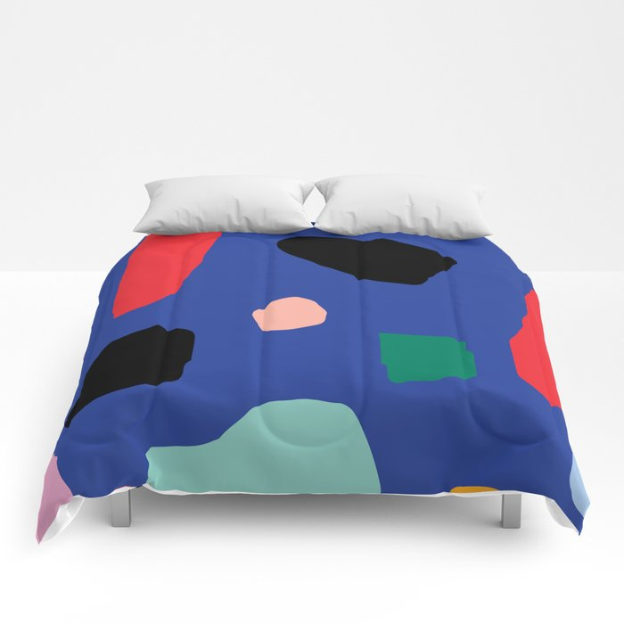 abstract comforter for college dorm room