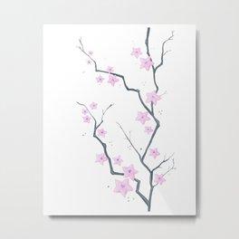 Cherry Blossom - Flores de cerejeira Metal Print