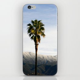 Southern California Snow iPhone Skin