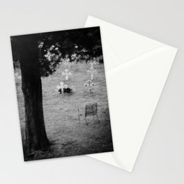 The grave of Thomas Merton Stationery Cards