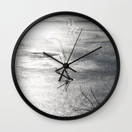 "A Winter""s Day Wall Clock"