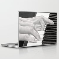 piano Laptop & iPad Skins featuring Piano by aurelia-art