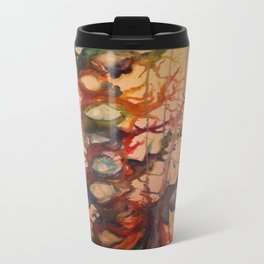 Crying Tree Watercolor Painting Travel Mug