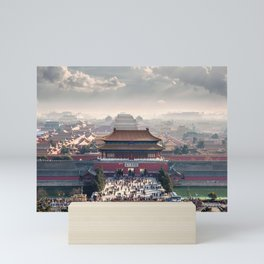 Historically Charged Forbidden City Beijing China Asia Ultra HD Mini Art Print