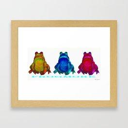 FROGMORE Framed Art Print