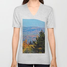 From Hills to Mountains Unisex V-Neck