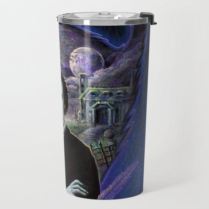 Edgar Allan Poe Gothic Travel Mug