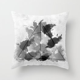 The Gifts Black and White Version Throw Pillow