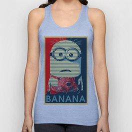 Minion banana Unisex Tank Top