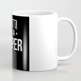 Goalkeeper Soccer Balls Sport Coffee Mug