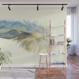 Feather Wall Mural