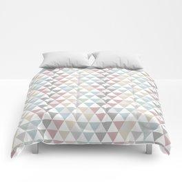 Geometric Pattern Wanderlust Pastel Comforters