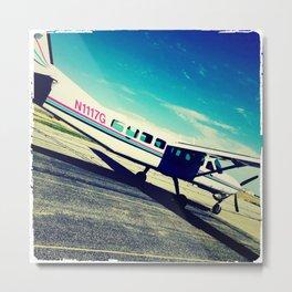 leaving on a jet plane Metal Print