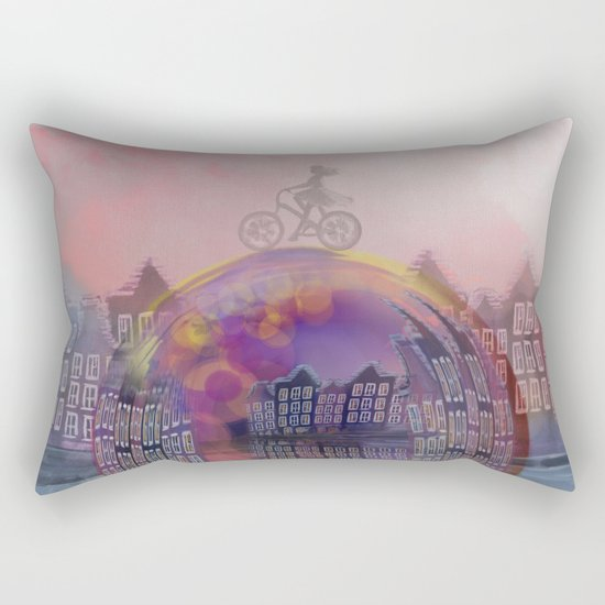 All bubbles are magical Rectangular Pillow