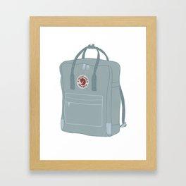 Fjallraven Kanken Backpack Framed Art Print