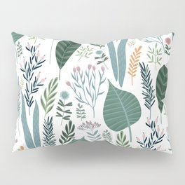 Early Spring Thaw In The Flower Garden Pattern Pillow Sham