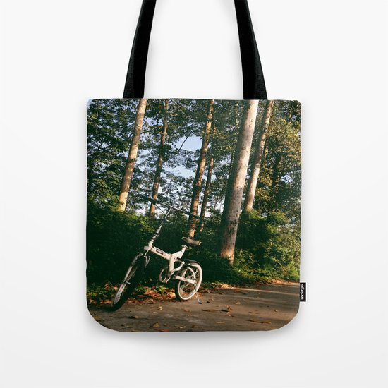 Trail Bike Tote Bag