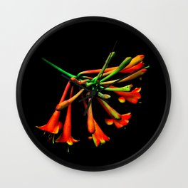Think Flowers - Unknown? Wall Clock