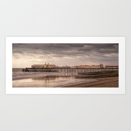 Hastings Pier And Storm Clouds Art Print