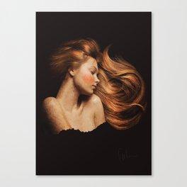 Sleeping Beauty / La Belle Au Bois Dormant Canvas Print