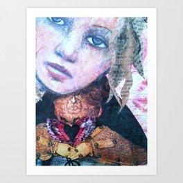 Hold you dear... Art Print