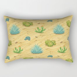 Pixel Desert Rectangular Pillow