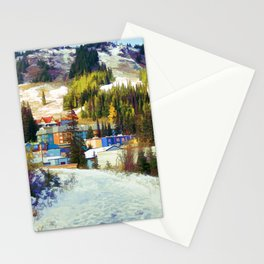 Mountain Haven Stationery Cards