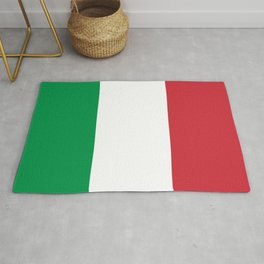 National Flag of Italy, High Quality Image Rug