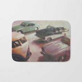 Retro Cars Bath Mat
