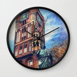 Torun city art 4 #torun #city Wall Clock
