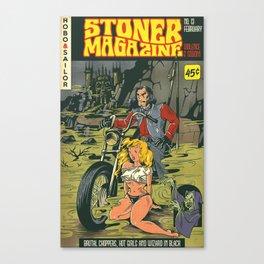 Hobo and Sailor. Stoner Magazine Canvas Print